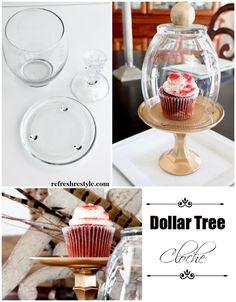 Dollar tree cloche Refresh Restyle