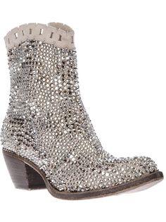 GIANCARLO PAOLI Embellished Bling Boot