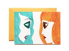 Well listen to me-Art print-Postcard by Pionara on Etsy