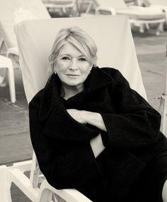 The queen…Martha Stewart.