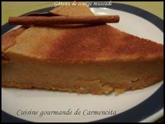 Gâteau de courge muscade http://www.carmen-cuisine.com/article-gateau-de-courge-muscade-88281706.html