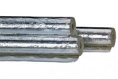 """Rohr Isolierung Rohrschale alukaschiert 100% EnEV 18 x 20 mm (3/8"""") 42 m, geschlitzt und selbstklebend"""