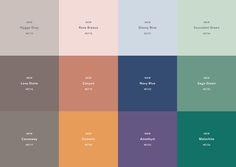 CIN Color Trends for Interiors 2018  #colorrevelation #colortrends  #colorcards #tintascin #decoração #cores #tendências  visit www.colorrevelation.com