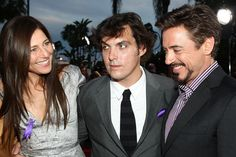 """Robert Downey Jr. Photos Photos - Actress Catherine Keener, director Joe Wright and actor Robert Downey Jr. arrive at the premiere of Dreamworks Pictures' """"The Soloist"""" held at the Paramount Studios Theater on April 20, 2009 in Los Angeles, California.  (Photo by Alberto E. Rodriguez/Getty Images) * Local Caption * Catherine Keener;Joe Wright;Robert Downey Jr. - Premiere Of DreamWorks """"The Soloist"""" - Arrivals"""