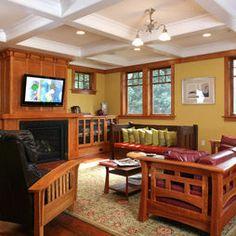 Genial Mission Living Room By Christian Gladu Design Craftsman Furniture, Craftsman  Style Decor, Craftsman Style