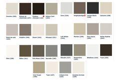 nuancier peinture grise 28 couleurs little grenne