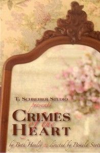 Crimes of the Heart. T. Schreiber Studio & Theatre.