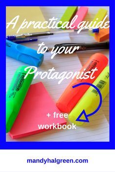 Characters make the book - none more so that the Protagonist! This practical guide will help you create your protagonist and you will get some freebies too! @mandyhalgreen