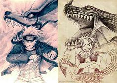 Naruto Kurama Fairy Tail Natsu Happi Anime Manga bayram13