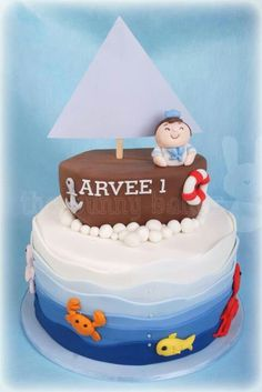 Boat cake from the bunny baker