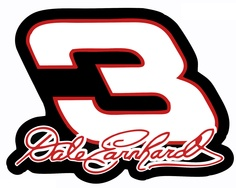 PICTURES OF #3 DALE EARHARDT CARS   Dale Earnhardt Sr Memorial Bumper Sticker 3 Nascar Car Decal 5 X 4