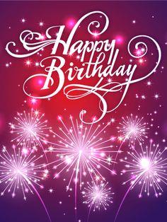 Happy Birthday Card Greetings Girl