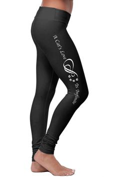 New Xlusion Womens Size Medium Large Fitness Yoga Stretch Leggings Black Spandex