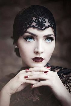 563 Best 1920s Makeup Inspiration Images In 2019 Beauty - 1920s-makeup-s