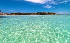 Come visit the quieter, more affordable option for your Mexico beach option in the Yucatan Peninsula, Isla Mujeres! Lanai Island, Big Island Hawaii, Island Beach, Best Beaches In Mexico, Beaches In The World, Beach Pink, The Beach, Famous Places In France, Where Is Bora Bora