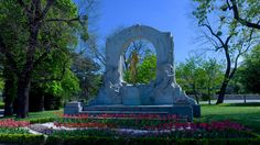"""See 199 photos and 7 tips from 965 visitors to Johann-Strauß-Memorial. """"No tourist and worth seeing in the evening"""" Johann Strauss, Four Square, Memories, Remember This"""