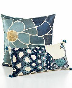bar III™ Bedding, Nara Decorative Pillows - Throws & Decorative Pillows - for the home - Macy's