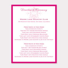 Pink and Gold Pocket with a Jewel by B Wedding Invitations