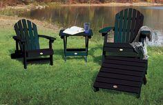 Highwood USA Adirondack Chair Collection - Charleston Green