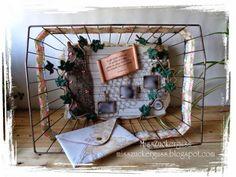 *gebastelt* Bild: der schönste Tag im Leben - HochzeitsErinnerungen im Fahrradkorb + Umschlag und Glückwunschkarte