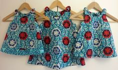 African print girl's dress - age 7 to 10 years £32.00
