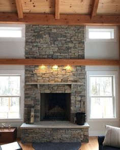 102 Best Fireplace Stone Ideas Images In 2019 Fireplace