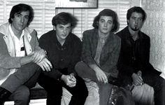 13th Floor Elevators pic: L-R John Ike, Tommy, Roky, Stacy.