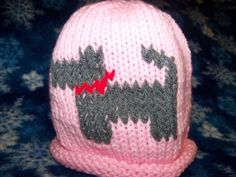 Baby Hat Miniature Schnauzer Dog by onceuponahook on Etsy, $13.00