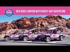 Pink Jeep Tours Las Vegas | Tours in Las Vegas, Grand Canyon, Hoover Dam, and Red Rock Canyon