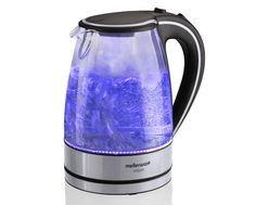 Mellerware Vision II Glass Kettle - Blue in the Kettles category was sold for on 27 Jan at by bidorbuy in Johannesburg Safety Switch, Futuristic Design, Heating Element, Kettle, Light Up, Cool Stuff, Stuff To Buy, Filters, Glass