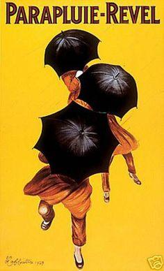 Vintage French Paraplui Revel Umbrellas