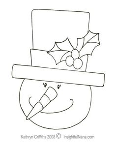 coloring pages large snowman head
