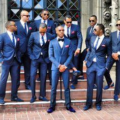 Royal Bule Men Suits Formal Wedding Party Prom Blazer Custome Homme Terno Slim F. Wedding Tux, Wedding Dress, Formal Wedding, Wedding Attire For Men, Trendy Wedding, Wedding Parties, Wedding 2017, Wedding Updo, Costume Garçon