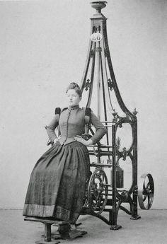 vintage everyday: Victorian Era Exercise Machine