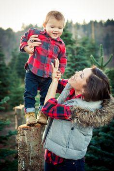 Christmas Tree Farm Photo Shoot 2014