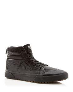 Vans Sk8-Hi Reissue Premium Leather Sneakers