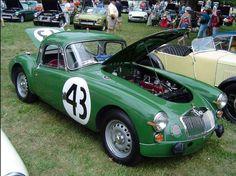 1960 MGA Coupe Sebring Amelia Island 2012