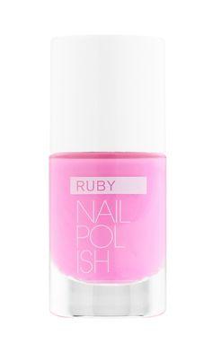 RUBY NAIL POLISH -