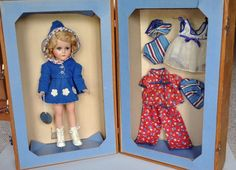 Arranbee R&B Nancy Lee Sonja Henie Skater Doll w/ Trunk and Clothes #ArranbeeRB #DollswithClothingAccessories