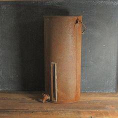 Gravity Style Cream Separator, Vintage Dairy Collectible, Rusty Farmhouse Decor