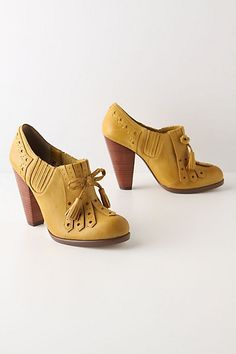 I am in love with these shoes.  Anthropologie, why couldn't you be just a tiny bit more affordable for an all but broke college student?