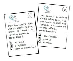 Printing Education Pictures To Learn French Pictures Code: 8367805782 Read In French, Learn French, Reading Games, Reading Activities, French Practice, French Flashcards, French Quotes, Teaching French, Thing 1