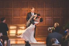 First Kiss | Kenneth Pfeifer Photography | TheKnot.com