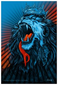 crown on lion artwork - Google Search
