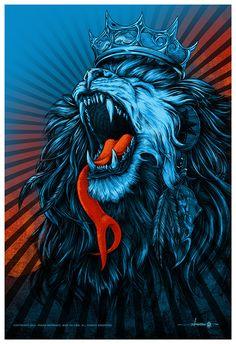 crown on lion artwork - Google Search
