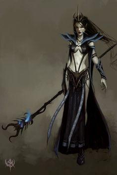 elfes noir   elfe noire