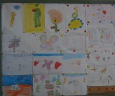 Los alumnos de 1º EP de la maestra Reme  del Colegio Ntra Sra de los Dolores de Águilas-Murcia crearon estos dibujos tras la experiencia del microscopio viajero