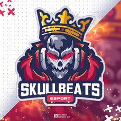 Sports Head, Game Logo Design, Esports Logo, Twitch Channel, Skull Logo, Cartoon Games, Icon Pack, Face Art, Design Art