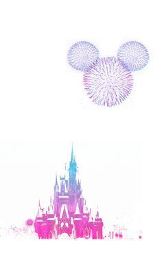 Disney Fireworks. My Heart