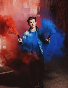 Tom Holland // Spider-Man: Homecoming promo